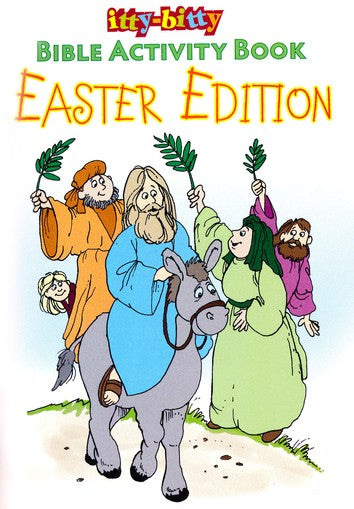 ITTY-BITTY/Bible Activity Book - Easter Edition
