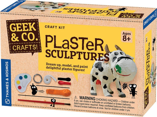 Geek & Co. Plaster Sculptures