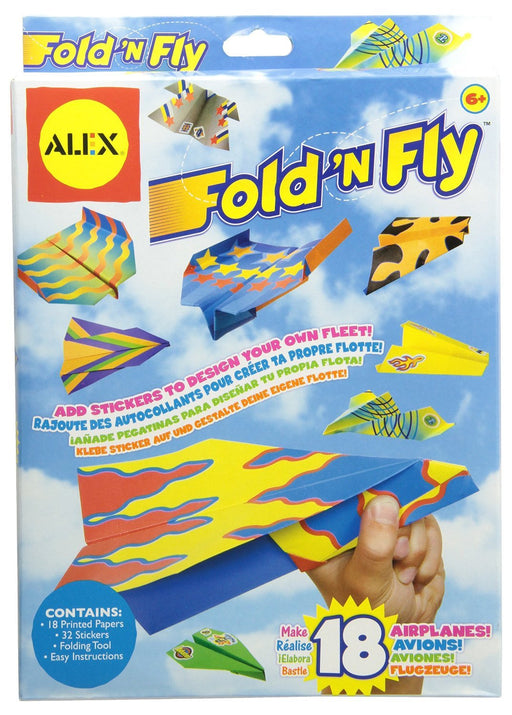 Alex Fold-n-Fly Paper Airplanes