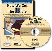 Software-How We Got The Bible-Powerpoint