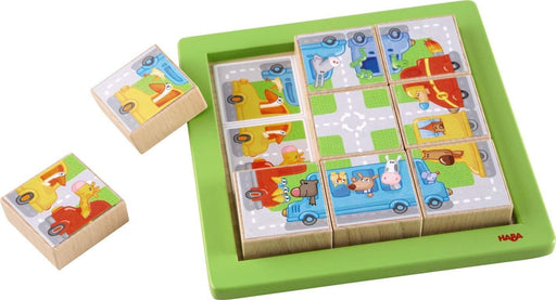 Haba Arranging Game Animal Driving