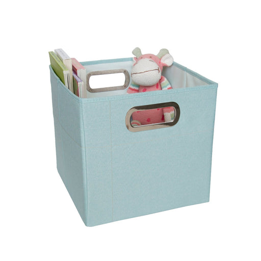 JJ Cole Storage Box 11 inches (Blue Heather)