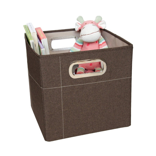 J Cole Storage Box 11 inches (Cocoa Heather)