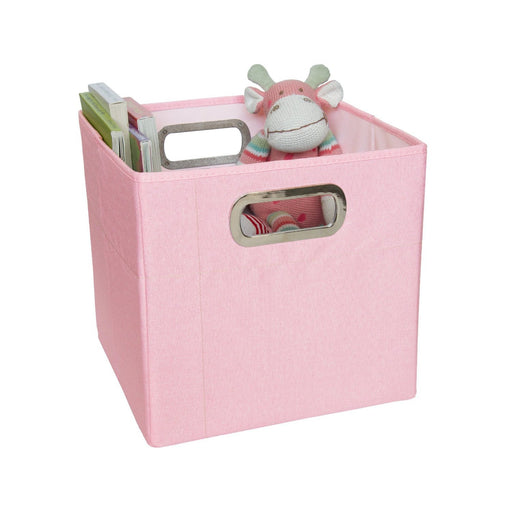 J Cole Storage Box 11 inches (Pink Heather)