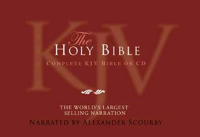 Audio CD-KJV Complete Bible-Nylon Zip (60 Cd + 1 DVD)