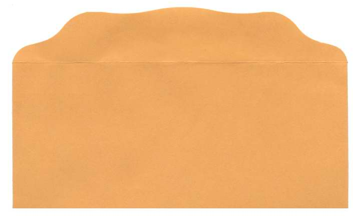 Offering Envelope-Blank (Bill-Size)-Goldenrod (Pack Of 100)