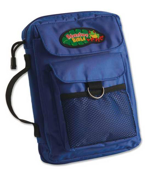 Bible Cover-Adventure Bible-Medium-Blue Nylon