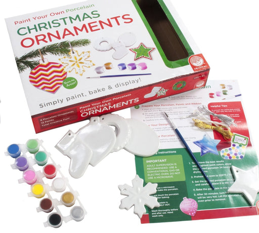 Mindwares Paint Your Own Christmas Ornaments