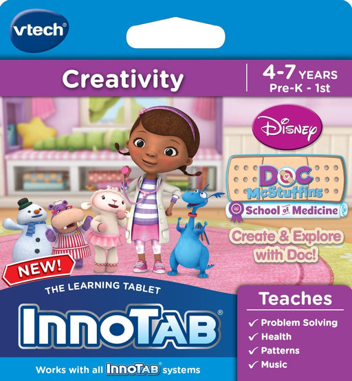 Vtech InnoTab Software: Doc McStuffins Create & Learn with Doc