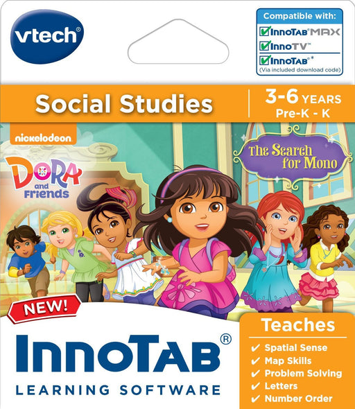 Vtech InnoTab Software: Dora & Friends
