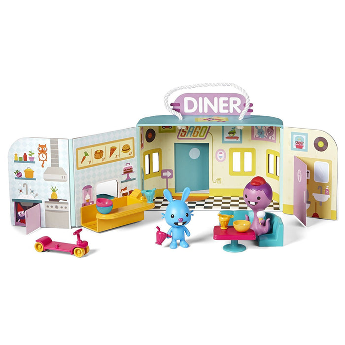 Sago Mini Portable Playset: Jack's Diner