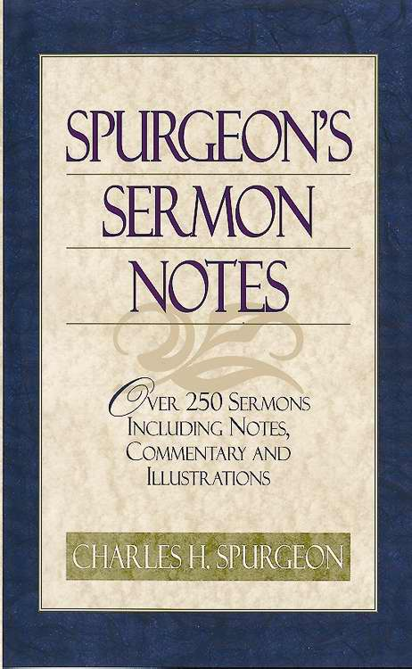 Spurgeon's Sermon Notes (Value Price)