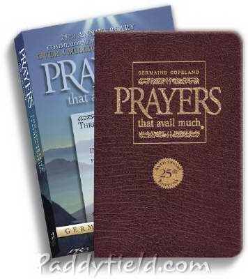 Prayers That Avail Much 25th Anniversary-Burgundy Bonded Leather