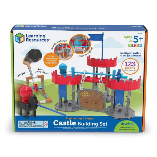 Learning Resources Engineering & Design Castle Building Set