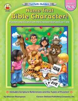 Name That Bible Character (Grades PK-K)