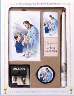 My First Mass Book Deluxe Gift Set (Good Shepherd Edition)-Boys