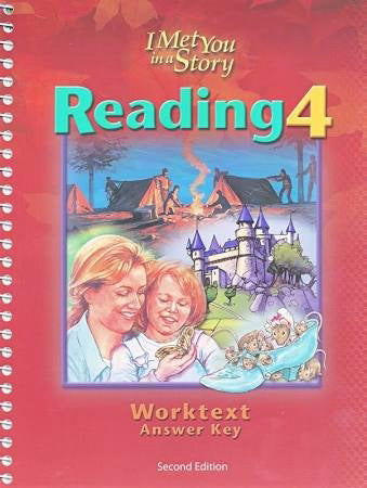 Reading 4 Worktext Teachers Edition w/Anwer Key (2nd Edition)