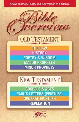 Bible Overview Pamphlet (Single)