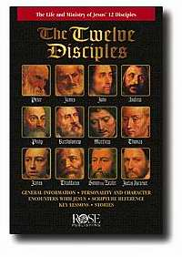 Twelve Disciples Pamphlet (Pack of 5)