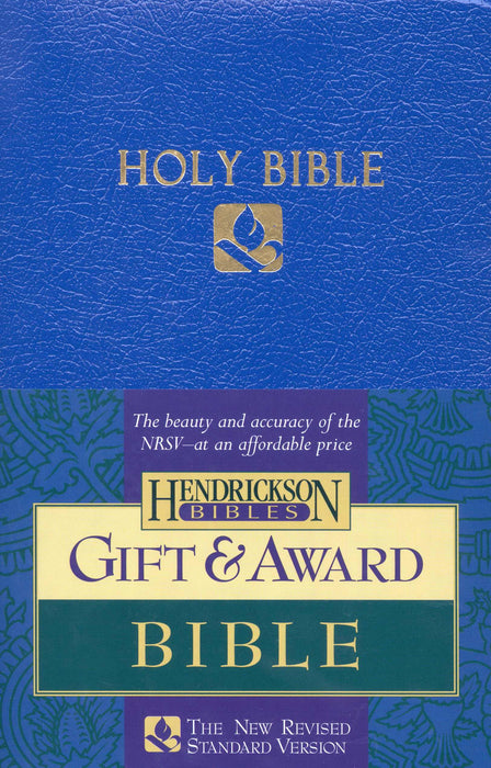 NRSV Gift And Award Bible-Blue Imitation Leather