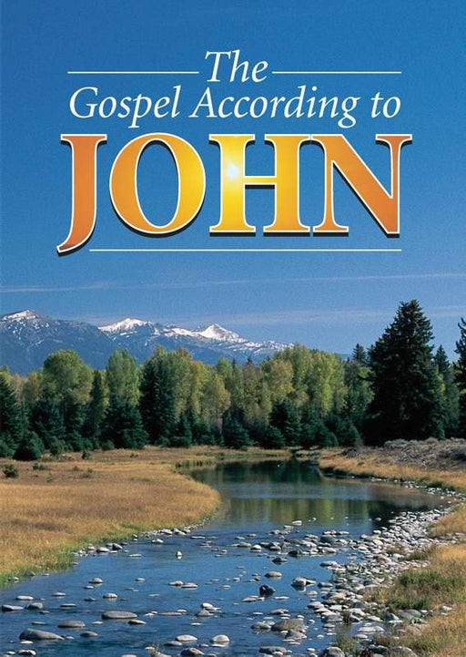 KJV Gospel According To John-Softcover