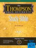KJV Thompson Chain-Reference Bible-Blue Bonded Leather Indexed