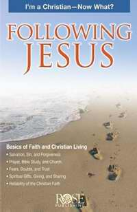 Following Jesus Pamphlet (Single)