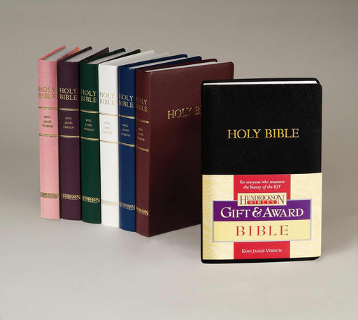 KJV Gift And Award Bible-White Imitation Leather