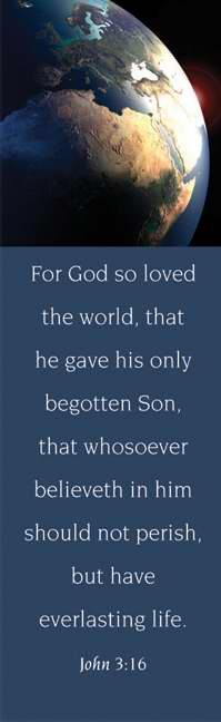 Bookmark-For God So Loved (John 3:16 KJV) (Pack of 25)