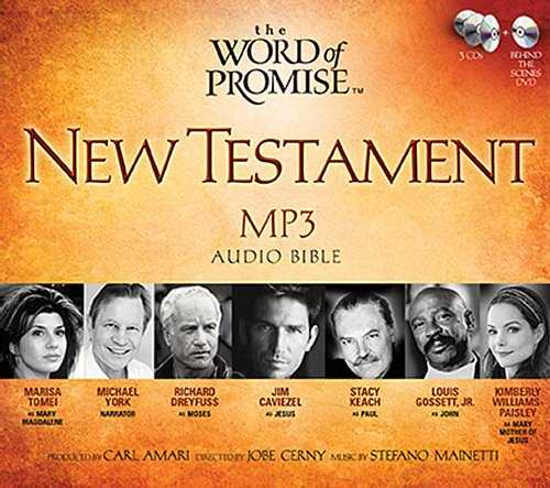 Audio CD-NKJV Word Of Promise New Testament Audio (MP3)