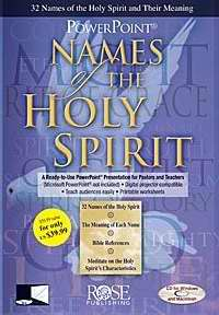 Software-Names Of The Holy Spirit-Powerpoint