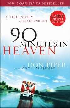 90 Minutes In Heaven-Large Print
