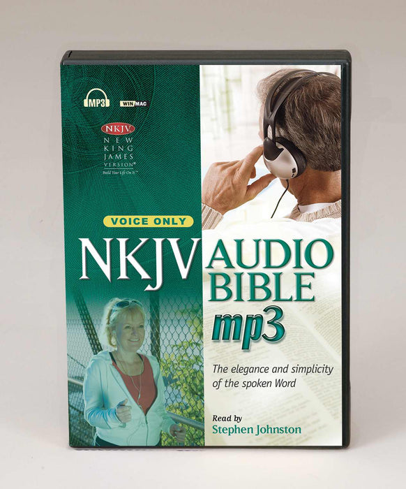 Audio CD-NKJV Complete Bible (Voice Only)-MP3 (3 CD)