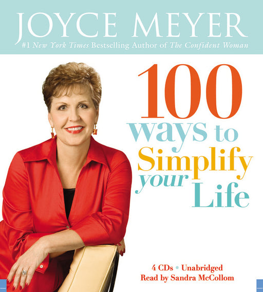 Audiobook-Audio CD-100 Ways To Simplify Your Life (4 CD)