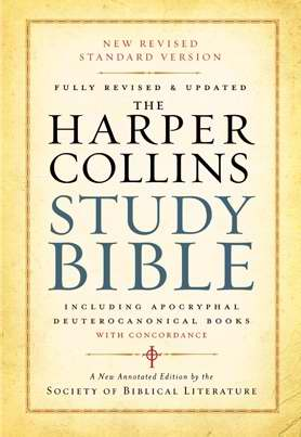 NRSV HarperCollins Study Bible (Revised)-Hardcover