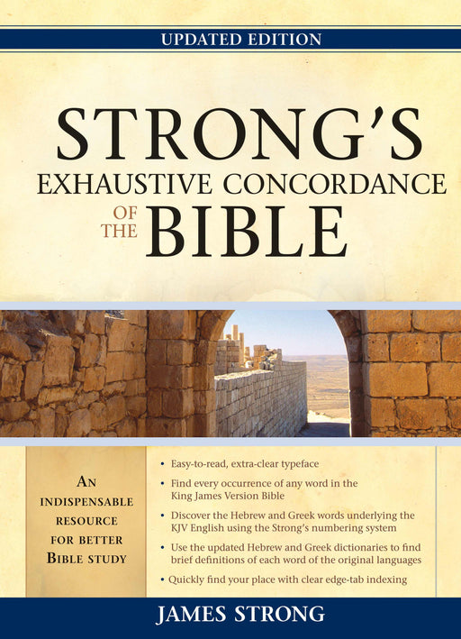 Strong's Exhaustive Concordance Of The Bible (Updated) (Value Price)