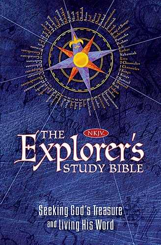 NKJV Explorer's Study Bible-Hardcover