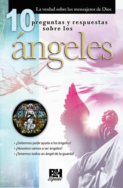 Span-10 Q & A On Angels Pamphlet (Themes Of Faith) (10 Preguntas y Respuestas Sobre los Angeles Folett)
