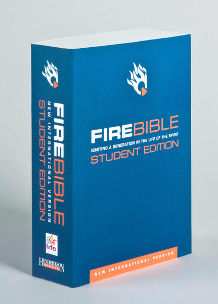 NIV Fire Bible Student Edition-Softcover (1984)
