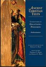 Commentaries On Galatians - - Philemon