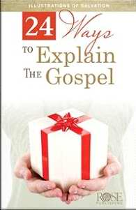 24 Ways To Explain The Gospel Pamphlet (Pack Of 5)