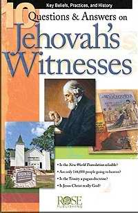 10 Q & A On Jehovahs Witnesses Pamphlet (Single)