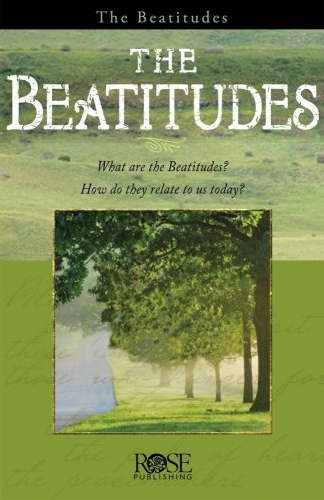 Beatitudes Pamphlet (Single)