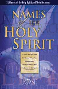 Names Of The Holy Spirit Pamphlet (Single)