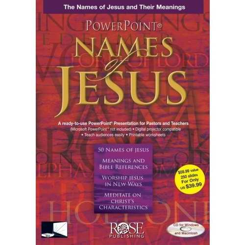 Software-Names Of Jesus-Powerpoint