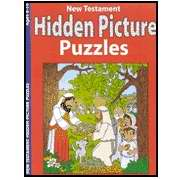 New Testament Hidden Pictures Activity Book (Pack Of 6)