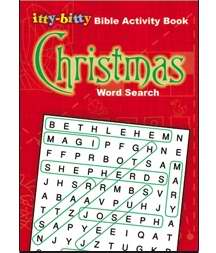 Itty-Bitty Christmas Word Search Activity Book (Pack Of 6)