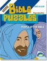 Bible Puzzles: People Of The Bible (Ages 8-Up)