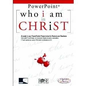 Software-Who I Am In Christ-Powerpoint