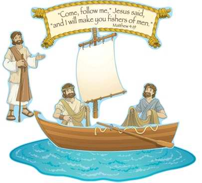 Bulletin Board Set-Fishers Of Men